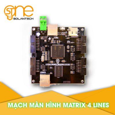 Mạch Điều khiển Màn Hình Matrix 4 Lines